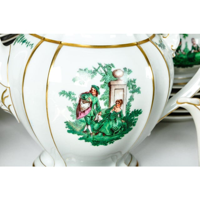 Tiffany and Co. Antique English Dinnerware Service - Set of 67 For Sale - Image 4 of 9