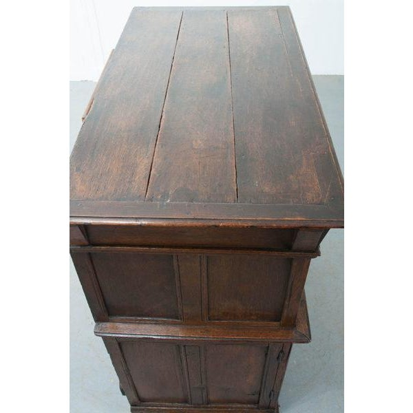 English 17th Century Charles II Oak Chest of Drawers For Sale In Baton Rouge - Image 6 of 13