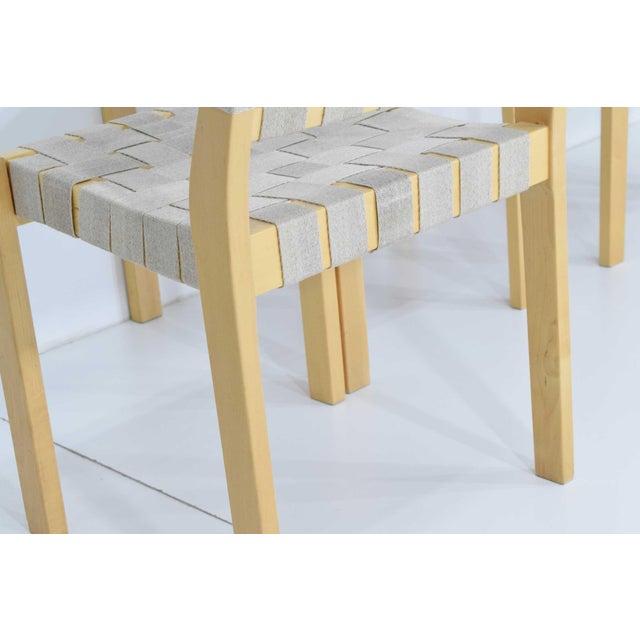 Artek Alvar Aalto 615 Chairs by Artek - Set of 8 For Sale - Image 4 of 10