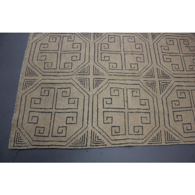 """Aara Rugs Inc. Hand Knotted Modern Kilim - 6'10"""" X 10'0"""" For Sale - Image 4 of 5"""