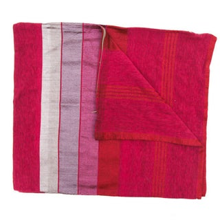 Striped Pink Safi Pillow Covers - A Pair For Sale