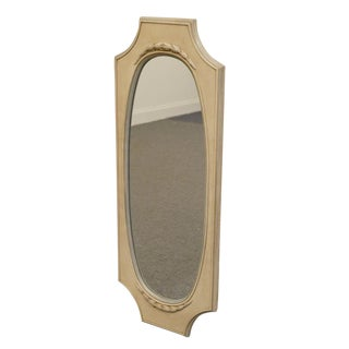 Late 20th Century Vintage French Provincial Wall Mirror For Sale