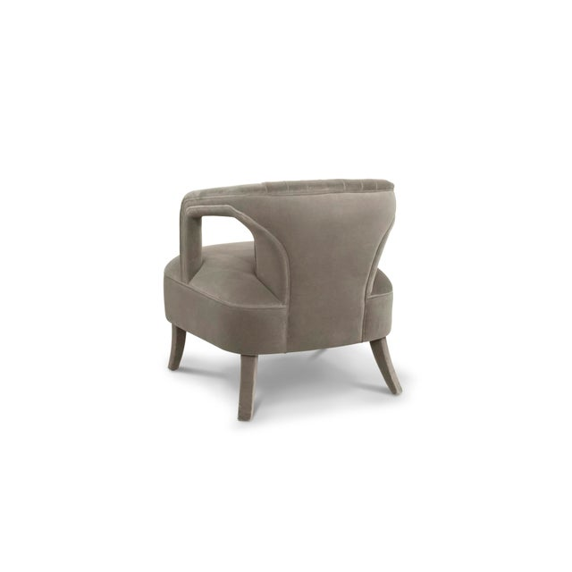 Modern Covet Paris Karoo Armchair For Sale - Image 3 of 7