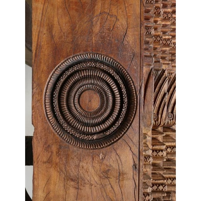 Antique Teak Wood Door frame imported from India with absolutely beautiful carvings. We have just received (4) antique...