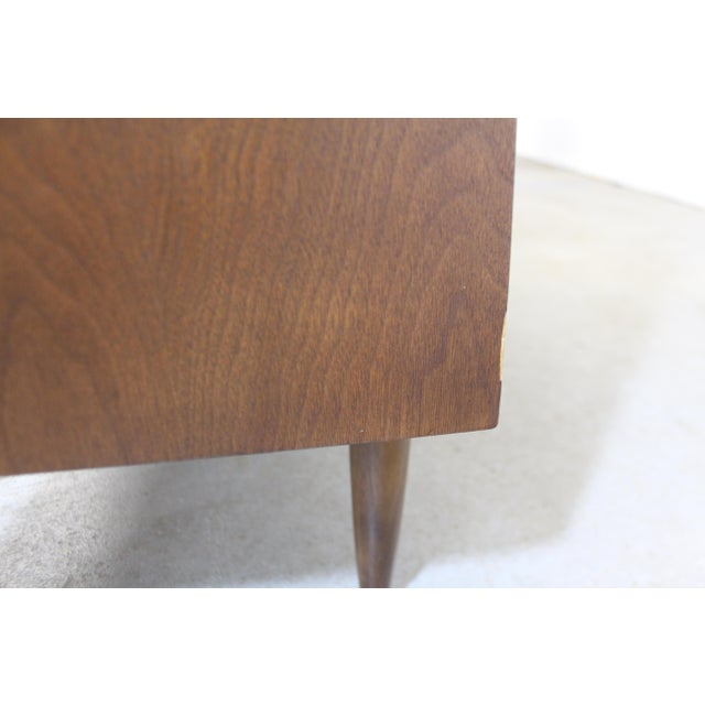 Mid-Century Modern Broyhill Premier Sculptra Tall Chest of Drawers For Sale - Image 9 of 13