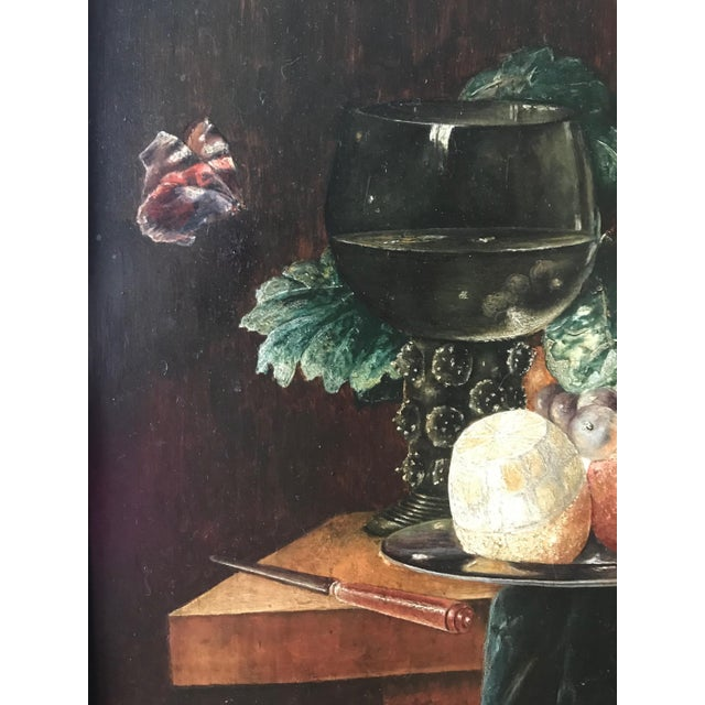 Late 19th Century 19th Century Still Life Painting After Pieter Claesz, Framed For Sale - Image 5 of 9