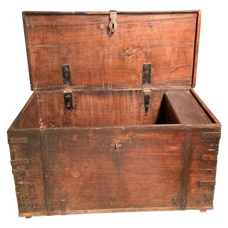 Antique European Trunk For Sale