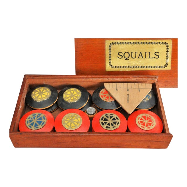 19th-Century English Squails Game, Rare For Sale