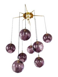 Image of Newly Made Purple Chandeliers
