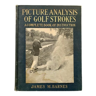 1910s Picture Analysis of Golf Strokes by James M. Barnes For Sale