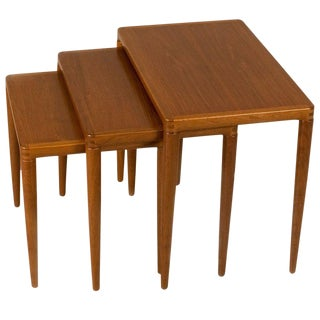 Niels Vodder Nesting Tables For Sale