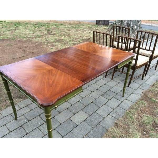 Vintage Regency Style Kindel Dining Table - Image 5 of 5