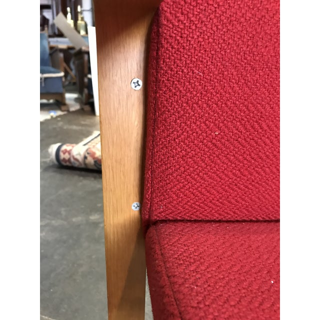 J.G. Furniture Red Laminate Chairs -Set of 6 For Sale - Image 9 of 11