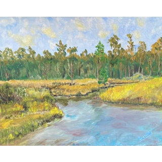 River Inlet Painting For Sale