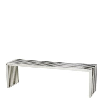 Carlisle Silver Bench For Sale