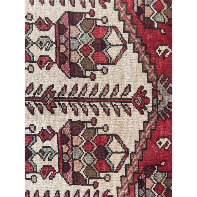 Vintage Hamadan Persian Rug - 3′6″ × 5′4″ - Image 6 of 9