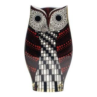 Mid Century Palatnik Op Art Lucite Owl For Sale