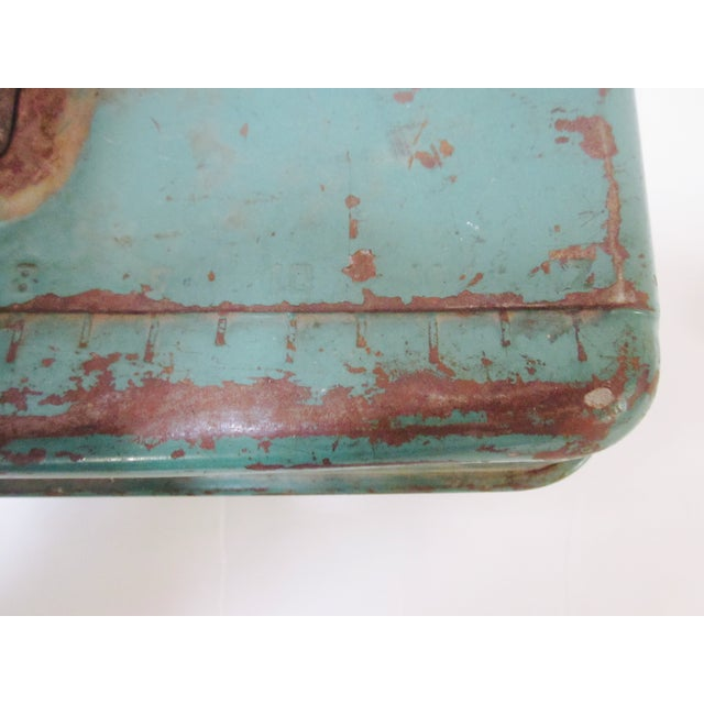Green Liberty NY Metal Chest - Image 4 of 11