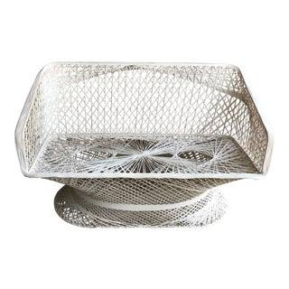 Mid-Century Modern Russell Woodard Fiber Glass Patio Love Seat