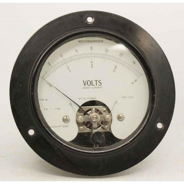 Olde Westinghouse Volt Meter - Image 2 of 6