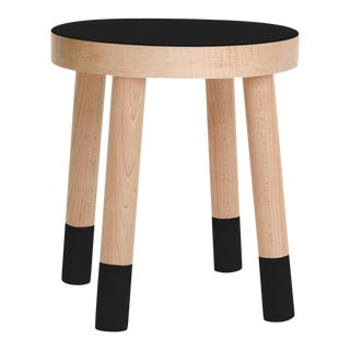 Poco Kids Chair in Maple With Black Finish For Sale