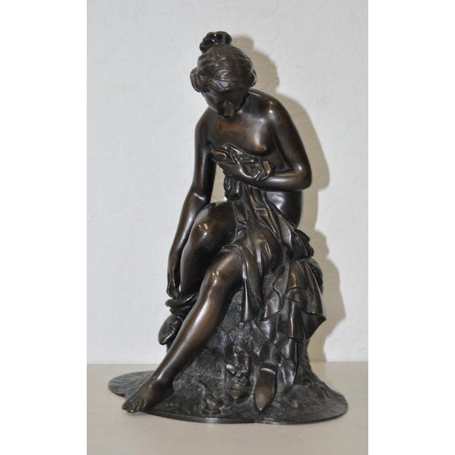 19th C. Bronze Ballerina Beautiful bronze ballerina sculpture 19th C. This lovely young woman is partially clothed and...
