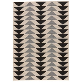 Jaipur Living McKenzie Indoor/ Outdoor Geometric Area Rug - 9′6″ × 13′ For Sale