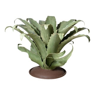 Agave Cactus Metal Table Base Huge Indoor Outdoor For Sale
