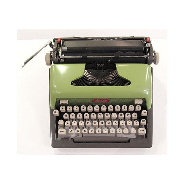 Mid Century Green Royal Typewriter - Image 7 of 7