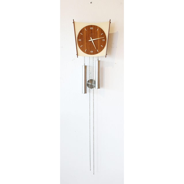 Junghans Germany Mid-Century Wall Clock - Image 2 of 6