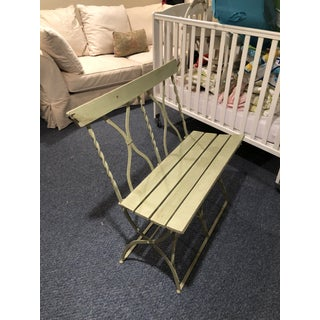 1990s Painted Folding Bench Preview