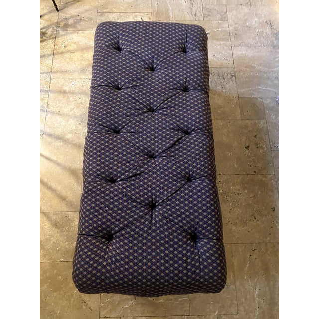 Traditional Late 20th Century Lee Industries Ottoman For Sale - Image 3 of 7