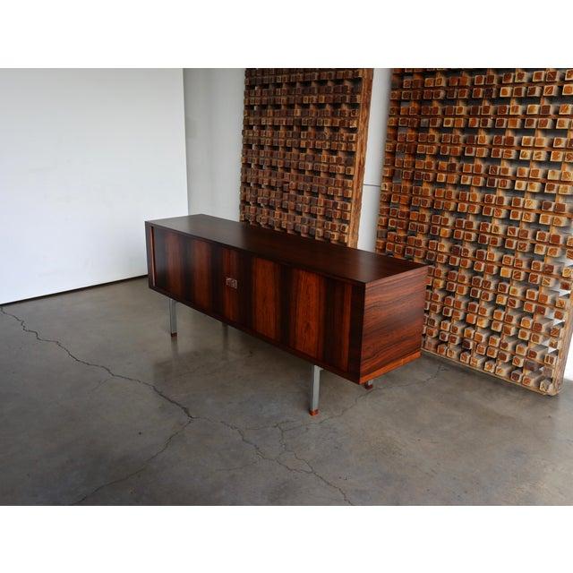 Hans Wegner Rosewood 'President' Cabinet, 1965 For Sale - Image 11 of 13