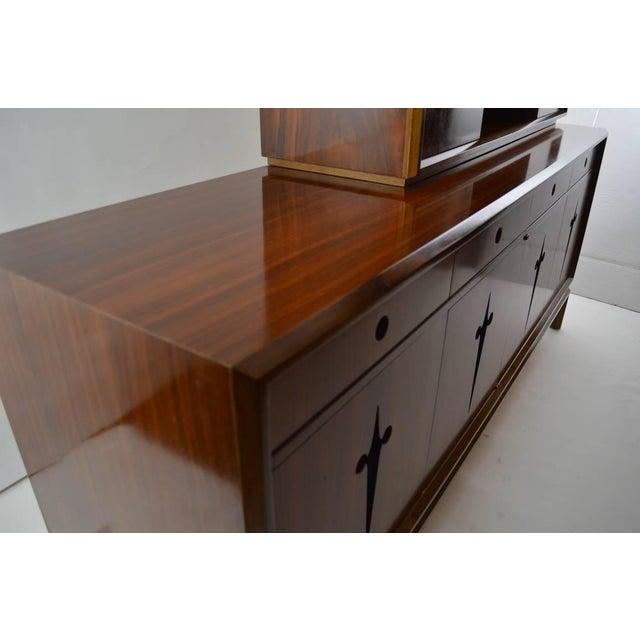Wood Edmund Spence Credenza Breakfront For Sale - Image 7 of 9