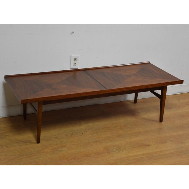 Walnut and Rosewood Coffee Table - Image 2 of 7