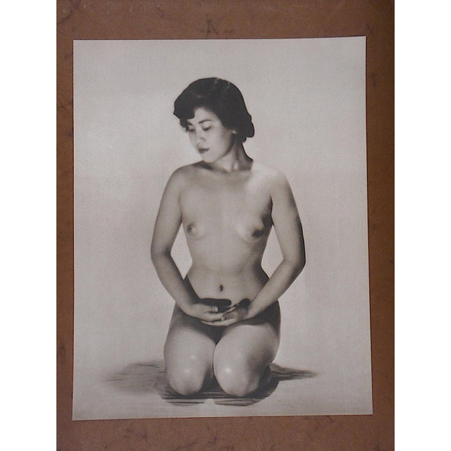 Vintage Silver Gelatin Nude Photograph - Image 3 of 3