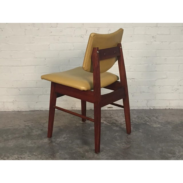 Jens Risom Style Mid-Century Modern Desk Chair - Image 3 of 8
