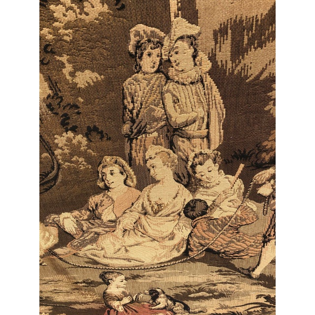 19th Century French Tapestries - a Pair For Sale - Image 10 of 11