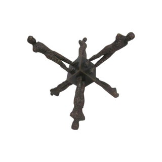 Modernist Falling Man Jacks Sculpture For Sale