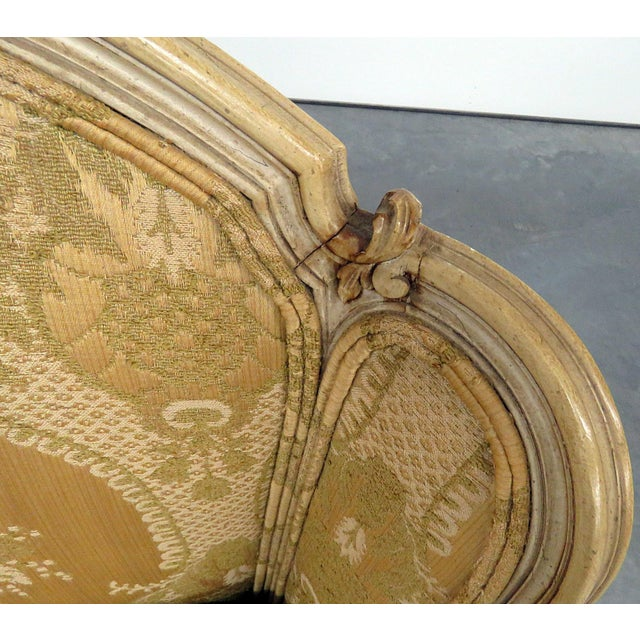 Pair of Drexel Heritage Louis XVI Style Bergeres For Sale - Image 9 of 10