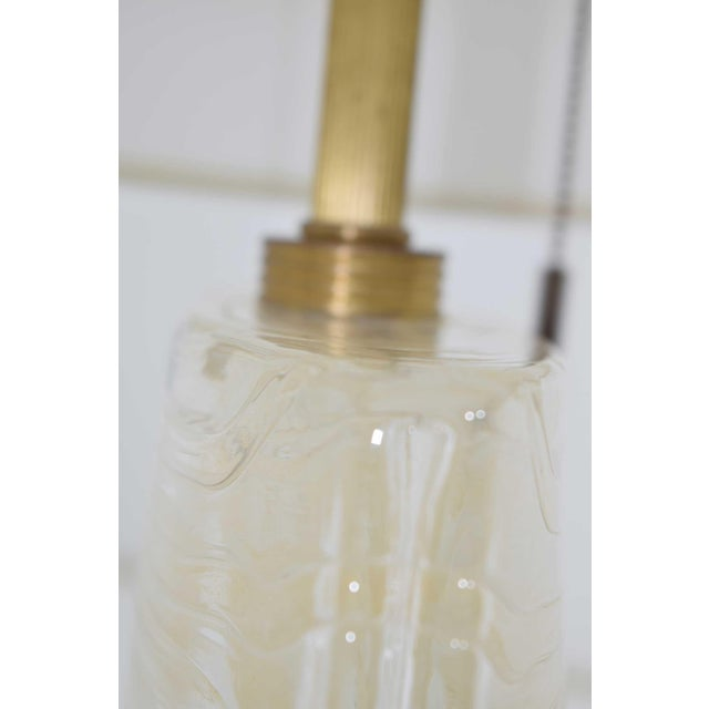 Modern Vela Venetian Glass Lamp by Donghia For Sale - Image 3 of 13