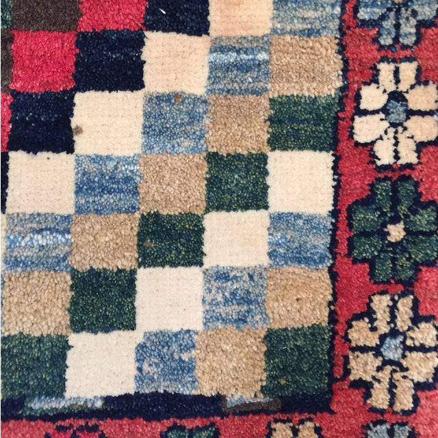 """Gabeh Hand Made Persian Rug - 1'9"""" x 2'5"""" - Image 4 of 10"""
