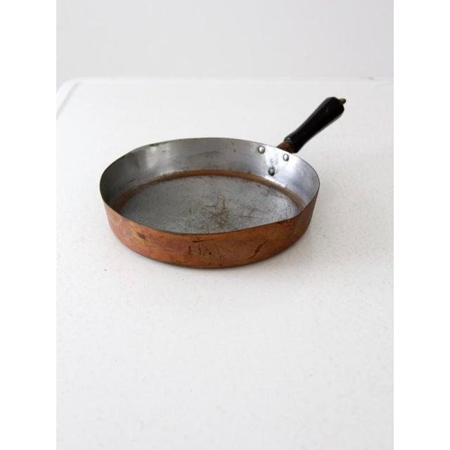 Vintage Revere Copper Skillet Pan For Sale - Image 9 of 9