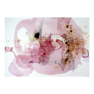 "Ana Zanic ""Blush Nebula W-2018-2-4"" For Sale"