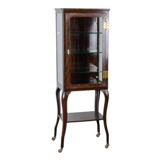 Metal Apothecary Cabinet, Circa 1910 For Sale
