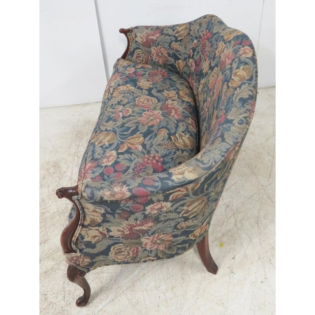 Mahogany Hickory Chair Company Louis XV Style Settee For Sale - Image 7 of 11