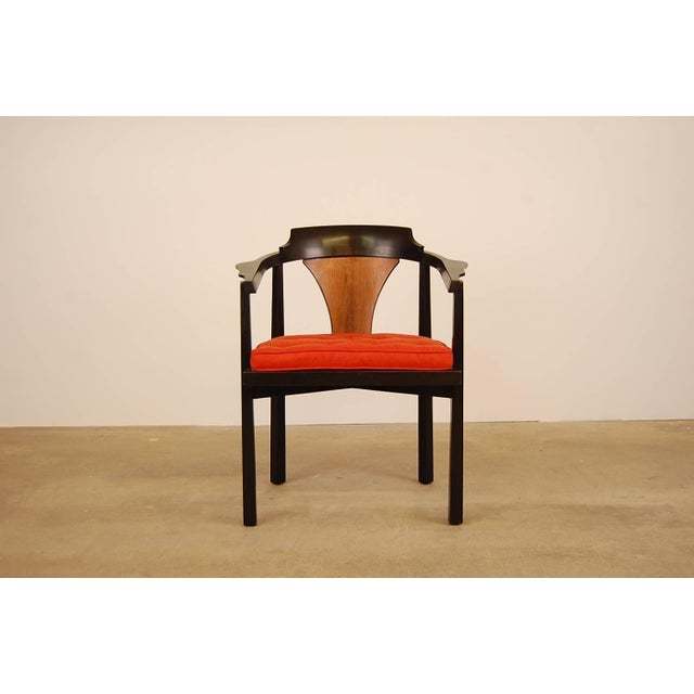 Dunbar Horseshoe Chair Designed by Edward Wormley For Sale - Image 8 of 8