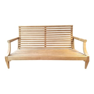 1998 John Hutton for David Sutherland Teak Sofa For Sale