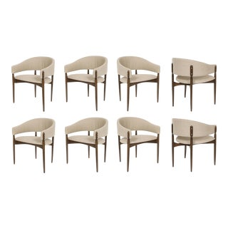 Set of Eight Enroth Dining Chairs For Sale