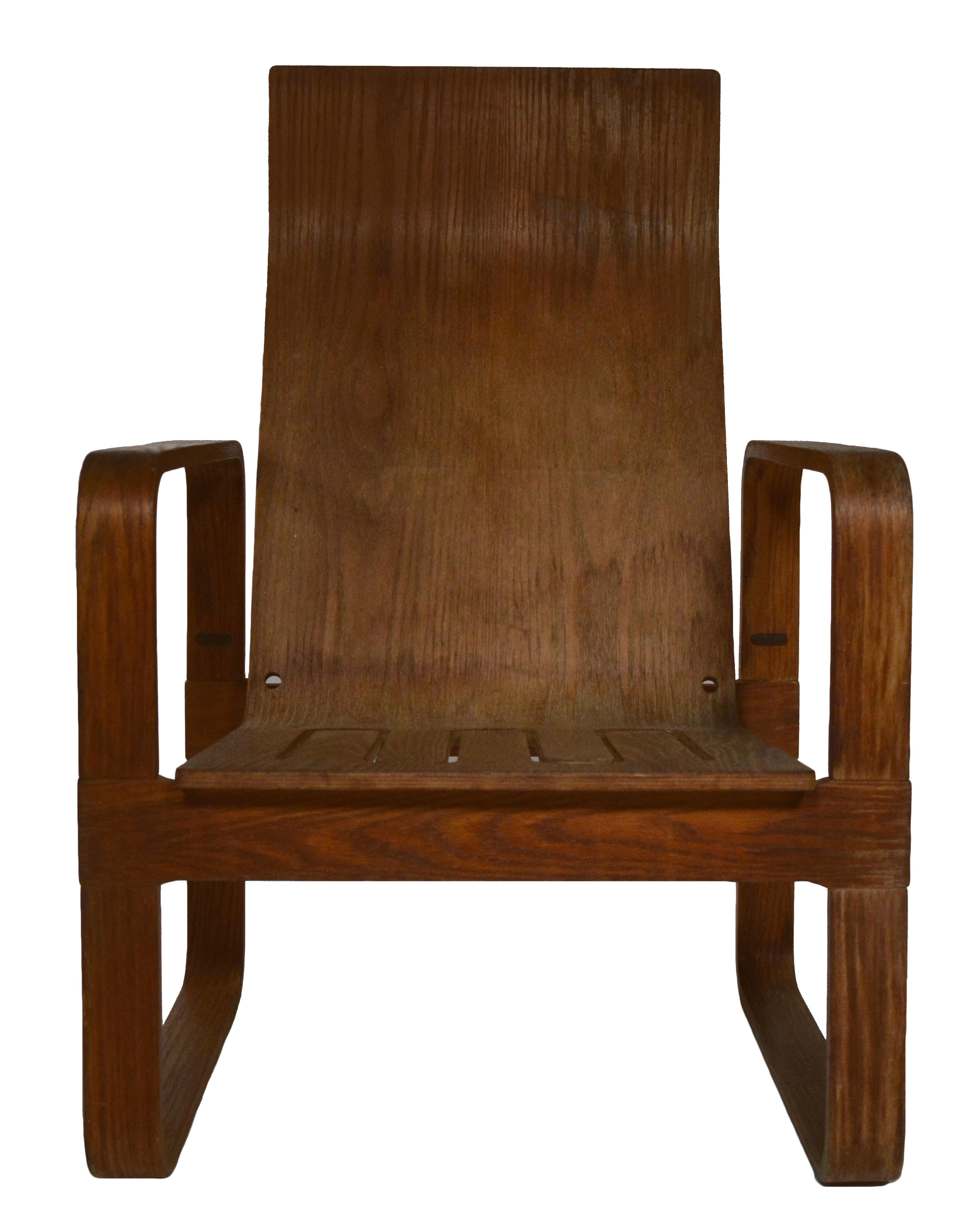 Thonet Bent Plywood Chair   Image 2 Of 4